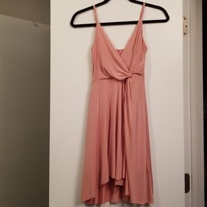 Forever 21 Pink Cami Mini Wrap Dress